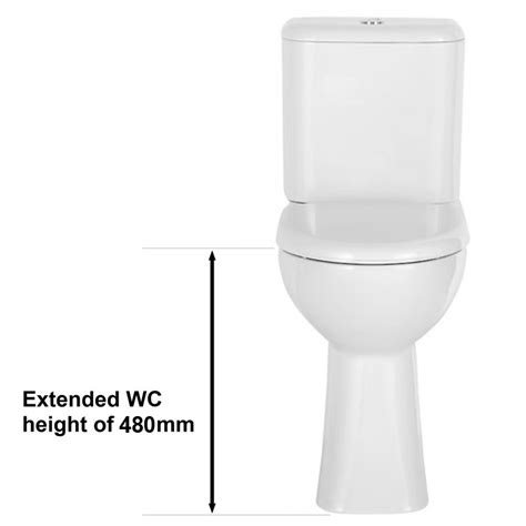 balterley vision comfort height coupled toilet