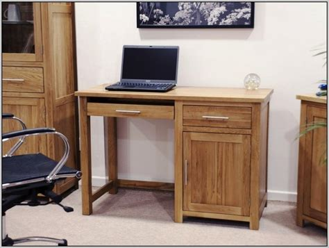 Wood Computer Desk With Keyboard Tray Ideas Wood