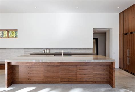 kitchen island ontario carling residence in ontario canada by tact architecture