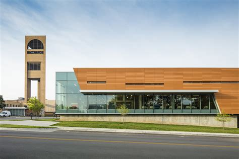 Gould Evans transforms brutalist library into community ...
