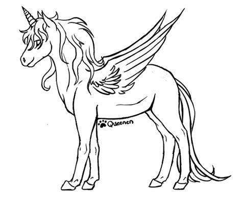 alicorn base coloring pages