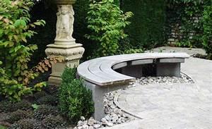 Gartenbank Selber Bauen : gartenbank selber bauen stein kreis garten ideen ~ Orissabook.com Haus und Dekorationen