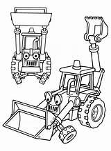 Builder Coloring Bob Printable Cartoon sketch template