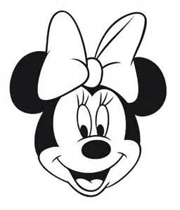 Mickey Mouse Halloween Stencil mickey y minnie para colorear caras buscar con google