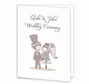 cute couple wedding mass booklet cover loving invitations With wedding invitations and mass booklets