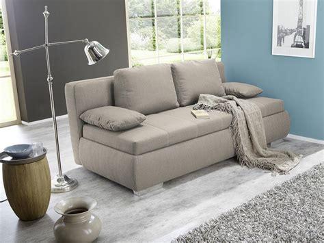 Dauerschläfer Schlafsofa 210x112cm Beige Sofa Boxspring