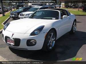 Pure White - 2009 Pontiac Solstice Gxp Coupe  Red