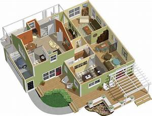 3d 2 Story Floor Plansamazoncom Chief Architect Home