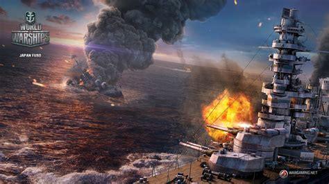 japanfusoworldofwarships  cool warship games