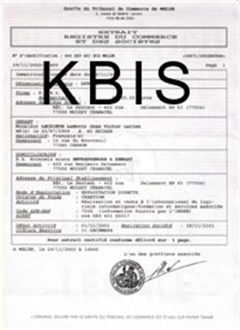 Modification Kbis Auto Entrepreneur by Cr 233 Er Entreprise Mode D Emploi Du R 233 Seau