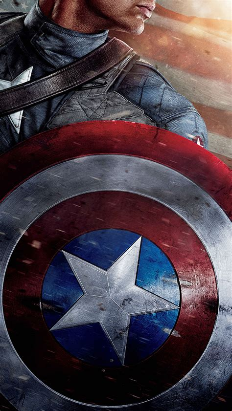 papersco iphone wallpaper ap captain america poster