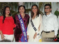 Miss San Pedro 2018 Delegates Presented at Sashing