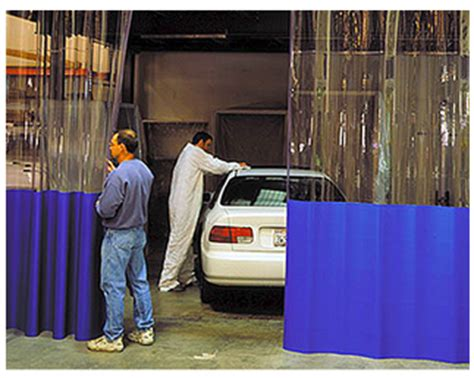 paint and spray booth curtains akon curtain and dividers