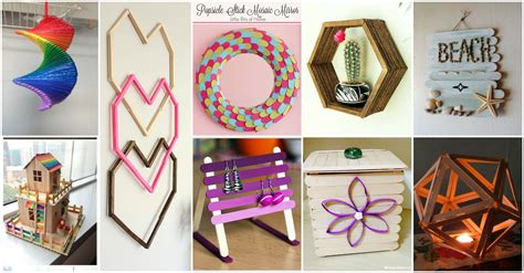 ideas for decorating a bedroom 13 diy popsicle sticks home decor ideas