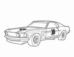 Dessin Jaguar Facile : voiture de course coloriages des transports ~ Maxctalentgroup.com Avis de Voitures