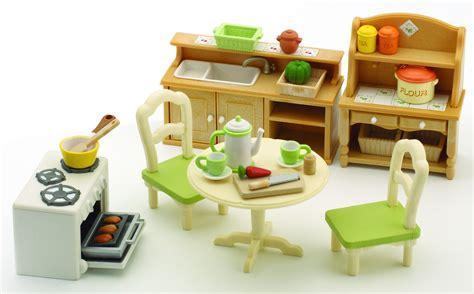 amazon cuisine sylvanian families 2951 set cuisine poupées et