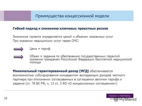 Проведение конкурса и заключение концессионного соглашения государственночастное партнерство