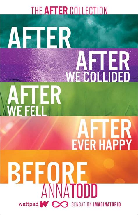 The After Collection   Book by Anna Todd   Official ...