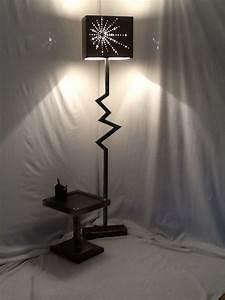 Lampe Sur Pied Industriel : lampe sur pied lampe sur pied style industriel en acier ~ Melissatoandfro.com Idées de Décoration