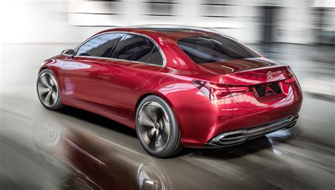 Mercedes A Class Photo by 2018 Mercedes A Class Sedan Concept Revealed Photos