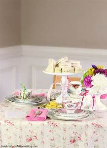 tea party bridal shower ideas celebrations at home With tea party wedding shower ideas