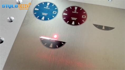 Color Laser Marking/engraving On Metal By Stylecnc Mopa