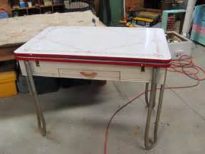 vintage metal kitchen table sets vintage kitchen table
