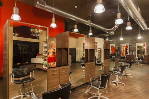 hair salon decoration idea salon station areas
