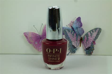 beet color opi infinite shine can t be beet