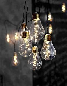 Led Lichterkette Draußen : star trading led lichterkette 10 gl hbirnen 5 leds ~ Watch28wear.com Haus und Dekorationen