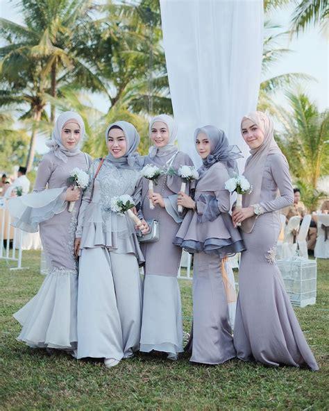 model baju kekinian foto 10 inspirasi baju bridesmaid yang kekinian untuk
