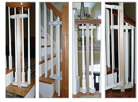 banister safety gate safety innovations baluster baby safety gate mounting kit
