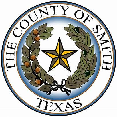 County Smith Seal Court Tyler Commissioners Constable