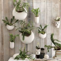 planter walls in gardens objects of design ceramic wall planters
