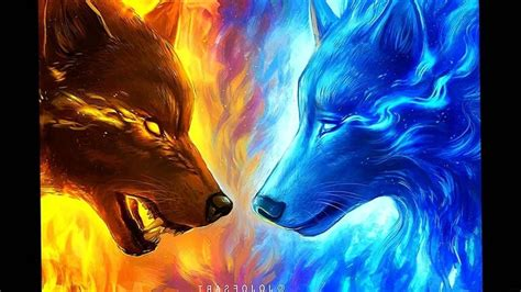 Cool Fire Wolf Wallpapers - Top Free Cool Fire Wolf ...