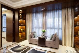 modern style living room floor to ceiling curtains design
