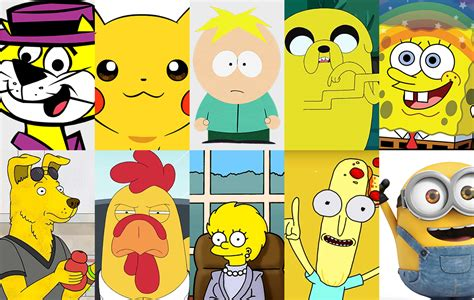 Why Are So Many Cartoon Characters Yellow?