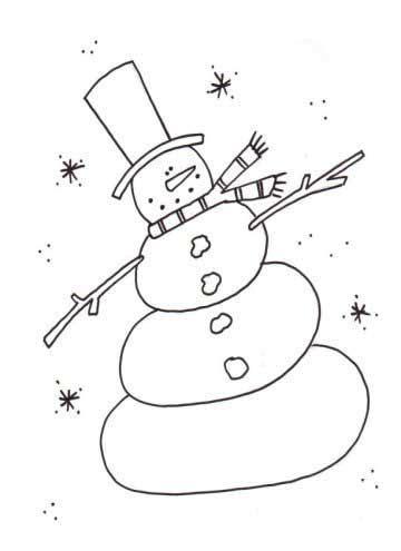 dancin snowman coloring page snowman coloring pages