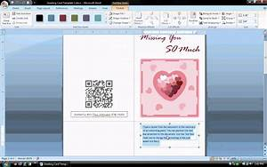 make card in word