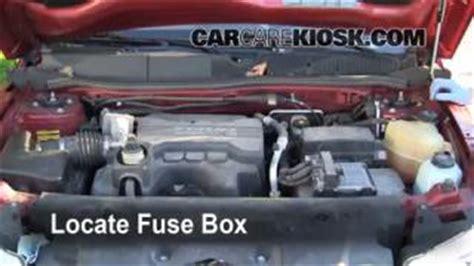 Hiding Fuse Box Car by Brake Light Change 2006 2009 Pontiac Torrent 2006