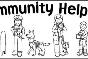 11418 community helpers clipart black and white c clipart clipart station page 587