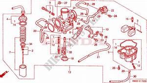 32 Honda Recon 250 Carb Diagram