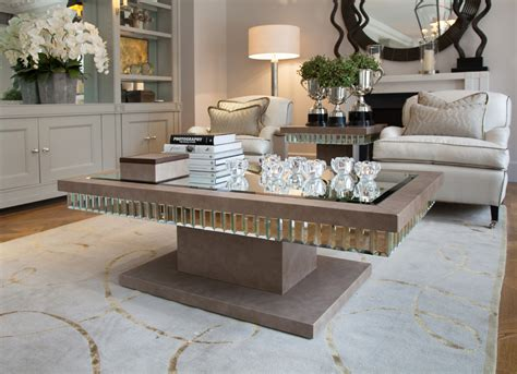 Awesome Mirrored Coffee Table