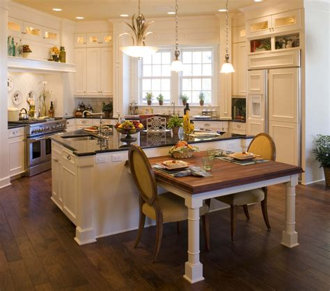 island kitchen table peregrine homes designed this kitchen to an