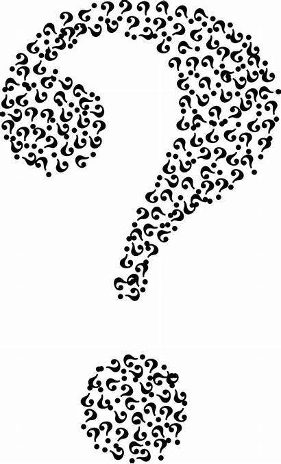 Question Mark Transparent Background Drawing Fractal Clipart