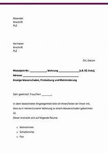 Wasserschaden Mietwohnung Mietminderung : mietminderung bei m ngeln kostenlose vorlagen downloaden ~ Orissabook.com Haus und Dekorationen