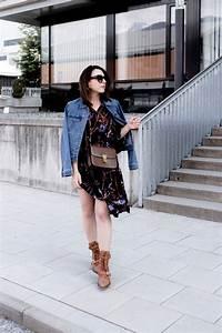 Ankle Boots Zum Kleid : so style ich meine chlo rylee cutout boots mit jeansjacke und kleid ~ Frokenaadalensverden.com Haus und Dekorationen