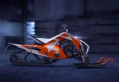 Ktm Hybrid Atv X2 Snowmobile Quad Behance