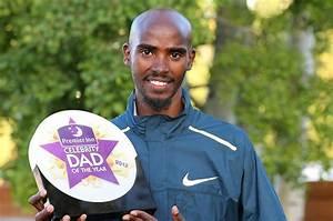 Mo Farah is top celeb dad | Daily Star