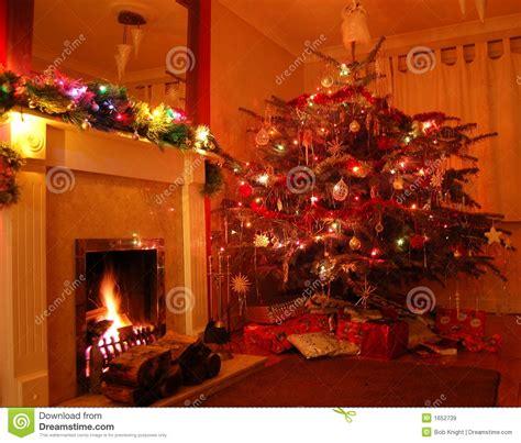 Weihnachten Zu Hause Lizenzfreie Stockbilder  Bild 1652739